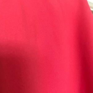 Paper Crane Tops - Paper Crane small high neck coral chiffon blouse